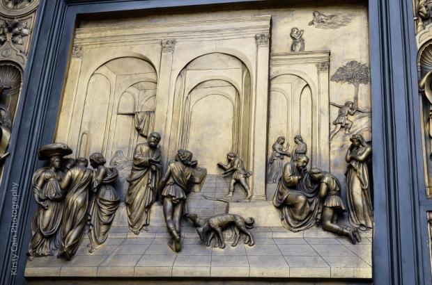 Grace Cathedral - Replica of Ghilberti Doors